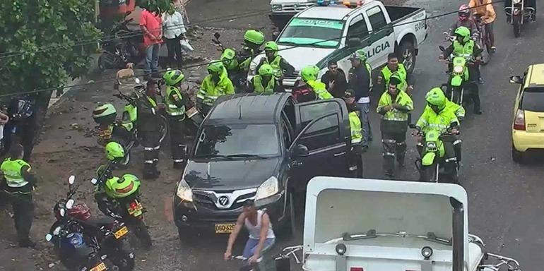 Policía Metropolitana de Villavicencio frustró millonario robo