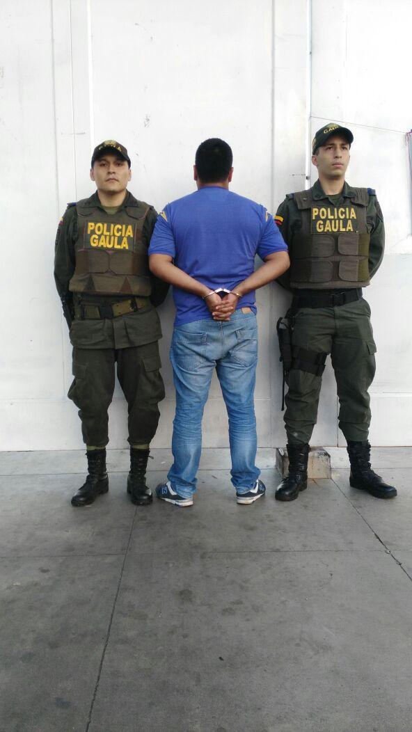 Capturado presunto extorsionador del Eln en Yopal