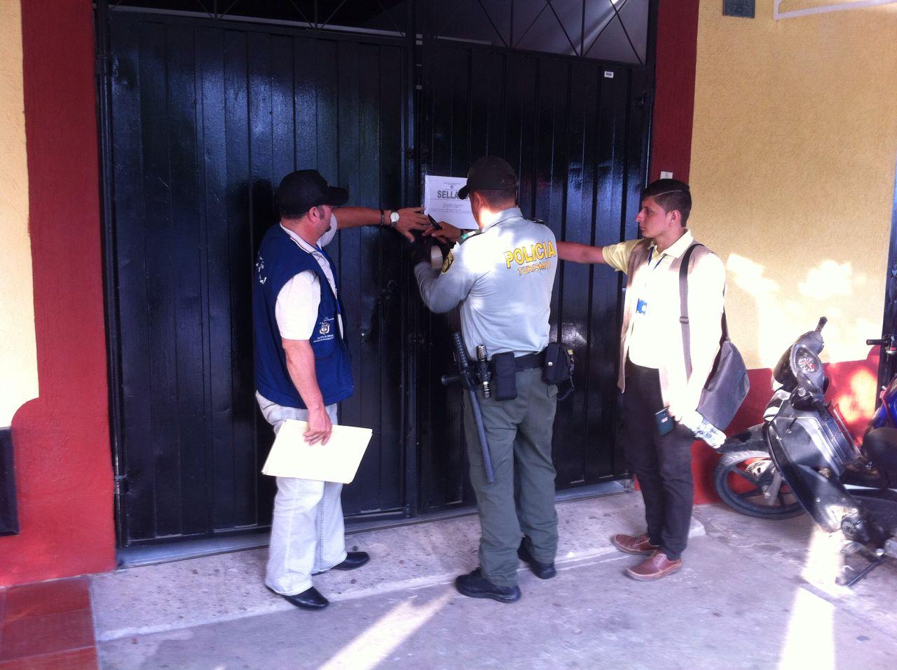 Policía de Turismo realizó cierres a hoteles por no cumplir con el Registro Nacional de Turismo