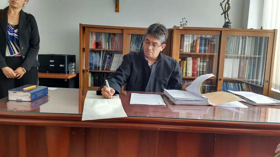 #EnAudio Magistrado del tribunal explica fallo en proceso contra JJ Torres
