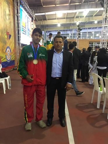 Joven Pazdeariporeño ratificado en Selección Colombia de Taekwondo