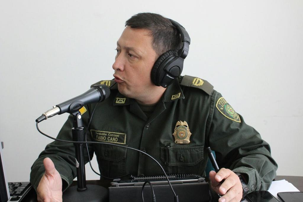 #EnAudio Coronel Fabio Cano de @PoliciaCasanare entrega balance de la actividad policíal