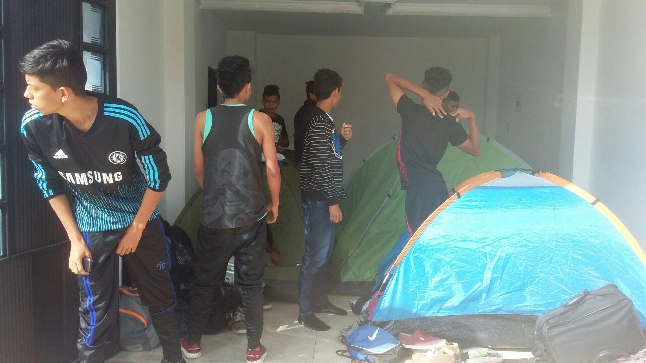 #EnAudio Deportistas Yopaleños de futbol 11 en Sogamoso no tienen como devolverse a casa