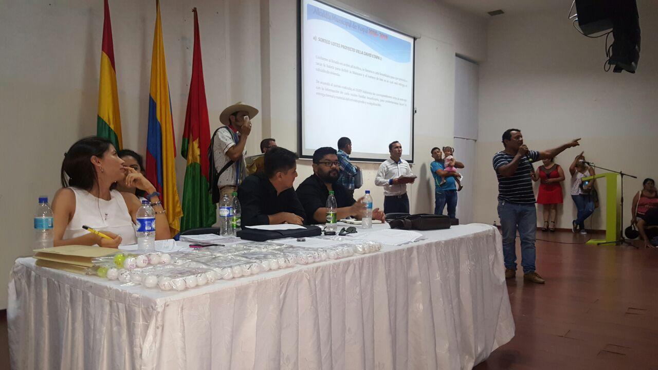 #EnAudio Gerente de IDURY explica inconvenientes con comunidad del 15 de octubre.