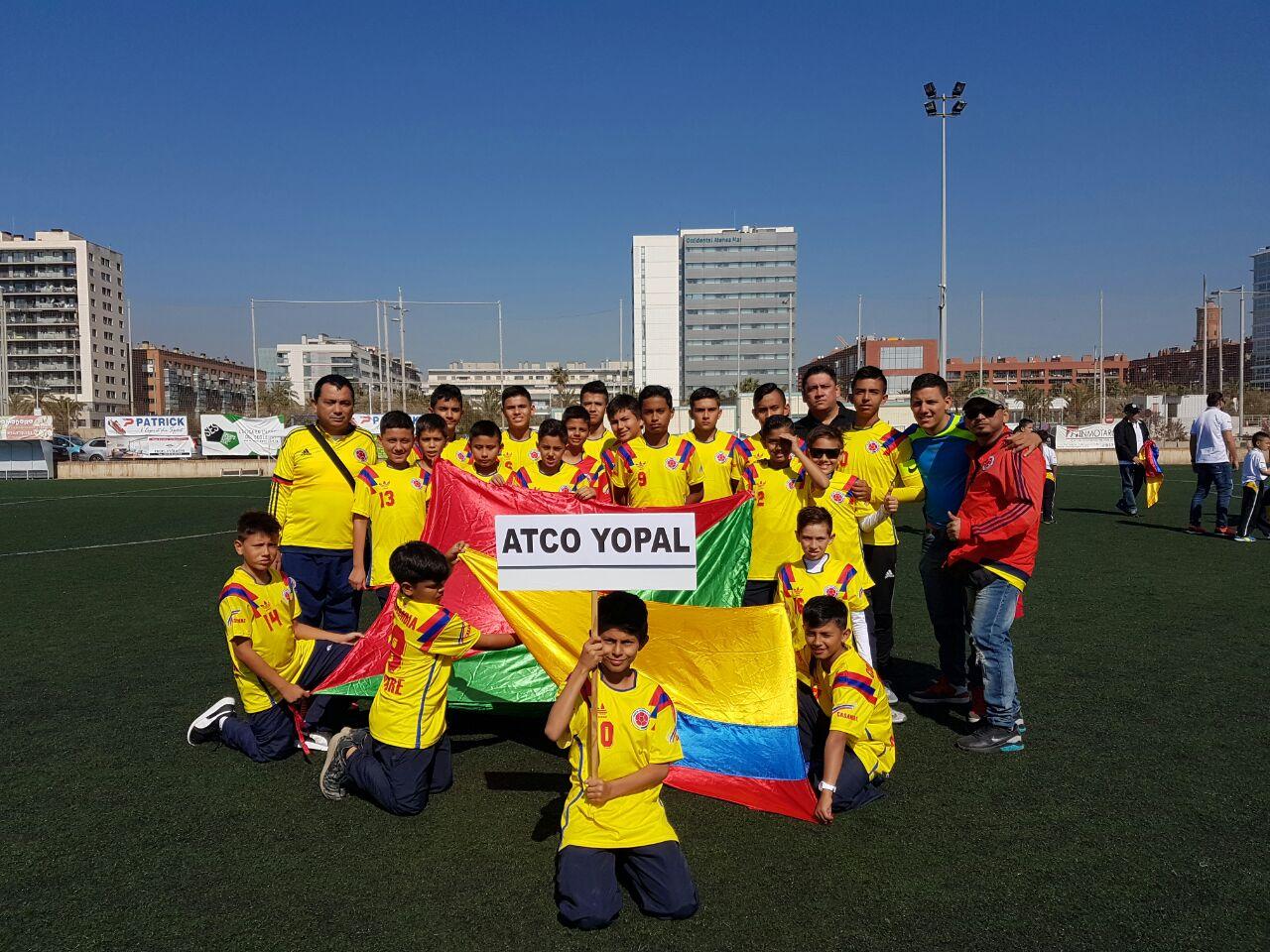 #EnAudio Equipo de futbol Casanareño, queda cuarto lugar en campeonato premier cup en Barcelona España