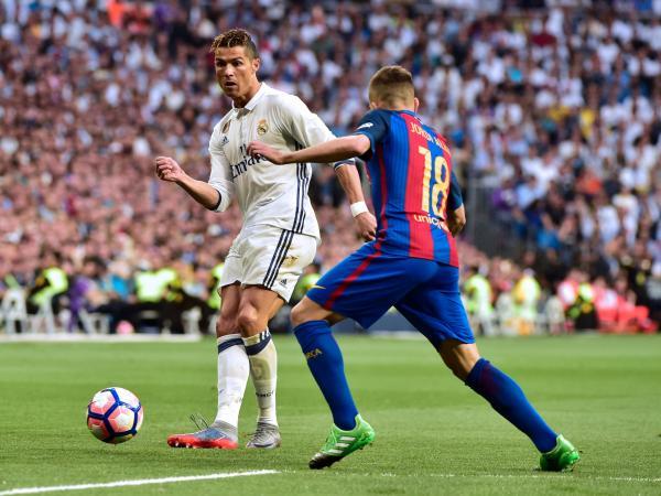 ¡Superclásico! Barça le ganó a Real Madrid en el último minuto