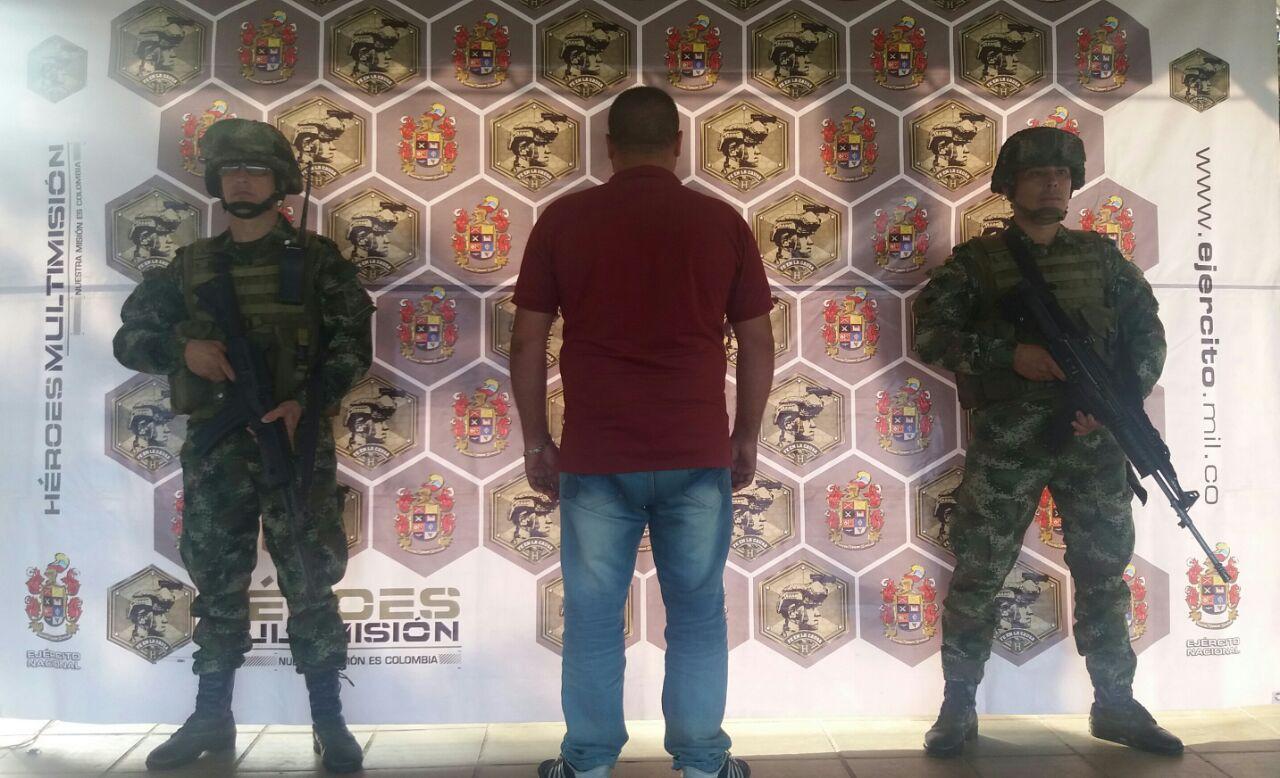 Capturados tres hombres responsables de acciones terroristas en Tame y Saravena