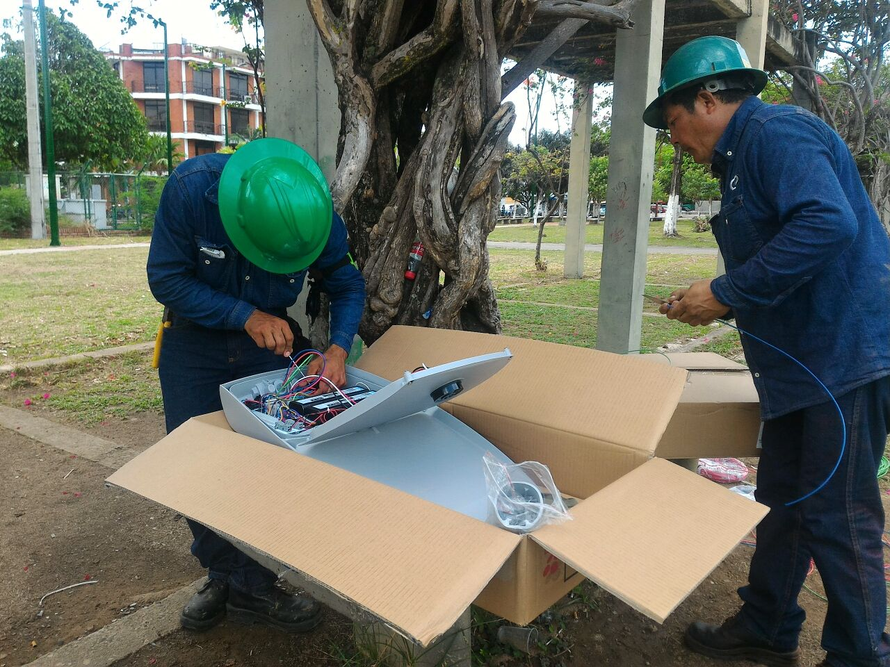 Con iluminación LED, la empresa Ceiba renovará alumbrado público de Yopal