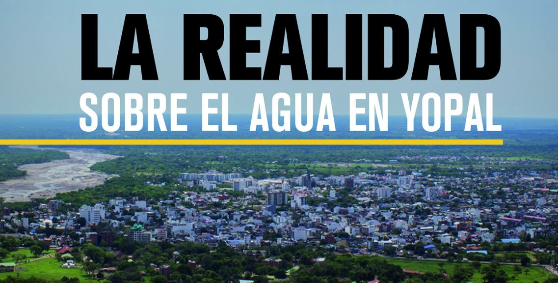 #EnAudio Colectivo de periodistas presenta informe especial sobre suministro de agua en Yopal.