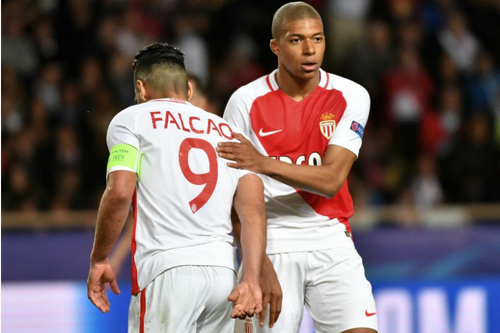 Falcao y Mbappé, los símbolos del Mónaco campeón