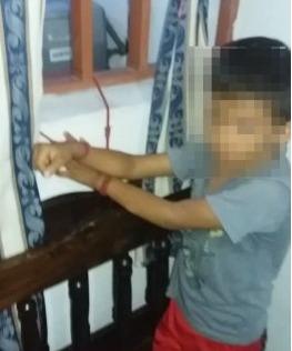 #EnAudio Policía rescato un menor que permanecía amarrado a una ventana  // delincuentes se alzaron con 25 millones en elementos