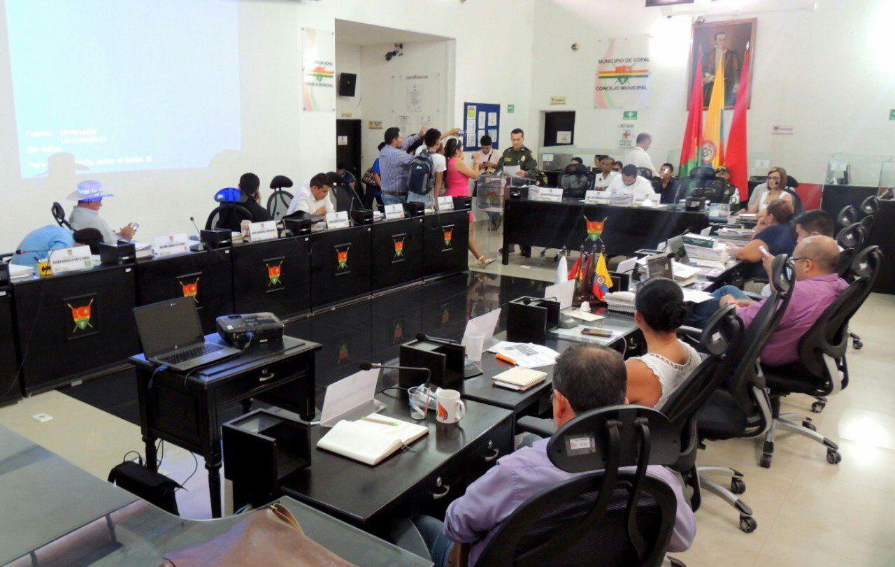 #EnAudio En concejo municipal, Policía realizó balance de actividades
