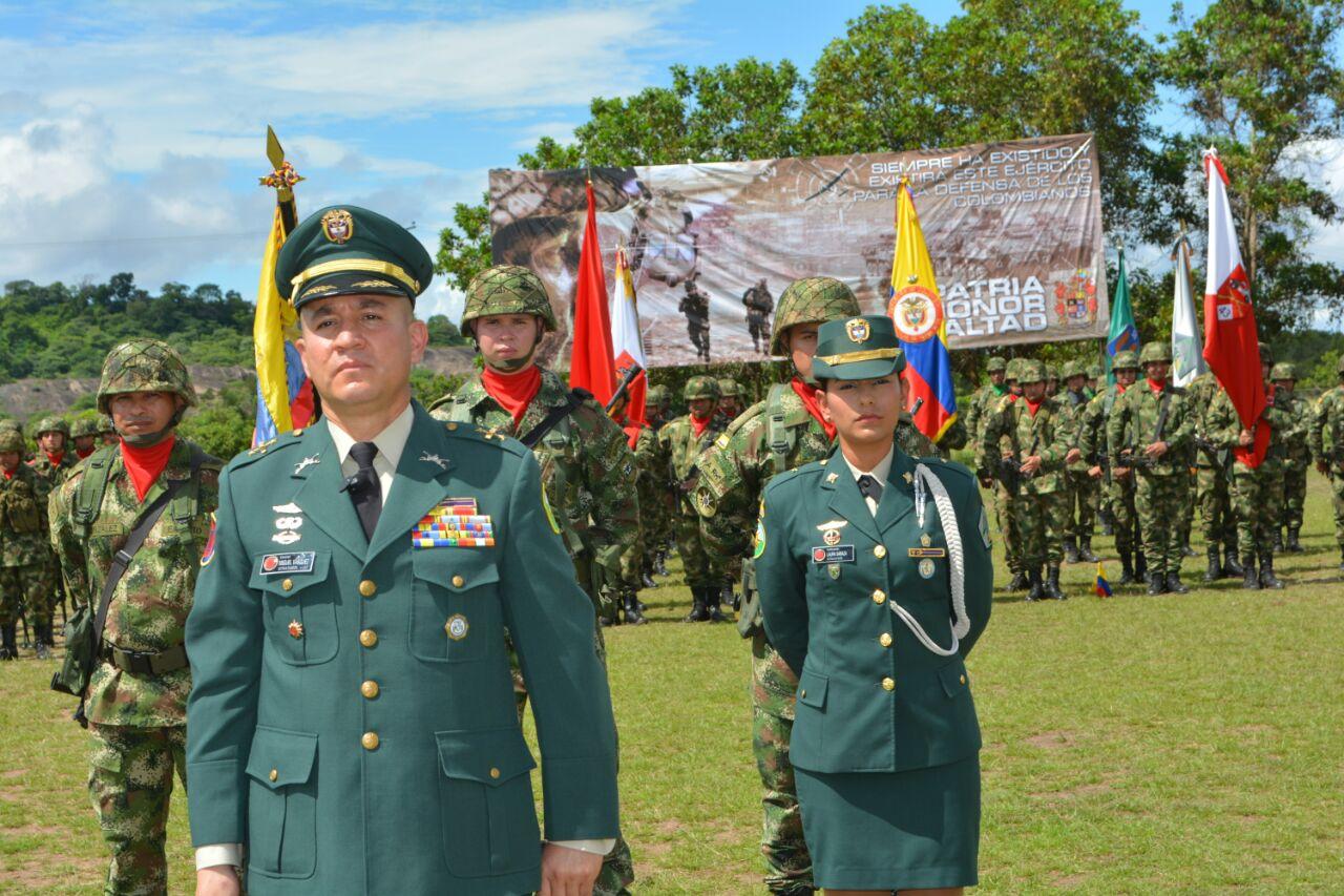 Un oficial de caballería es el nuevo comandante del Ejército en Vichada y Guainía