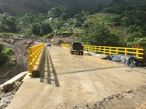 #EnAudio Puente La Almorzadereña permite se arranque con pavimentación de vía: Bernardo Niño, Coord. Veeduría