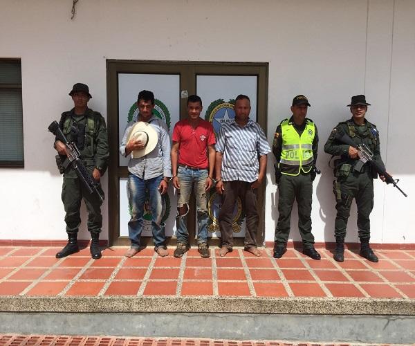 Seis capturados por abigeato este fin de semana en Casanare