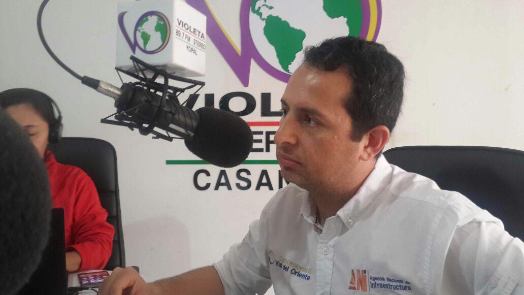 #EnAudio A mitad de julio Arranca trabajos de la doble calzada  Aguazul-Yopal: Oscar Hernández Gaona: Gerente Covioriente