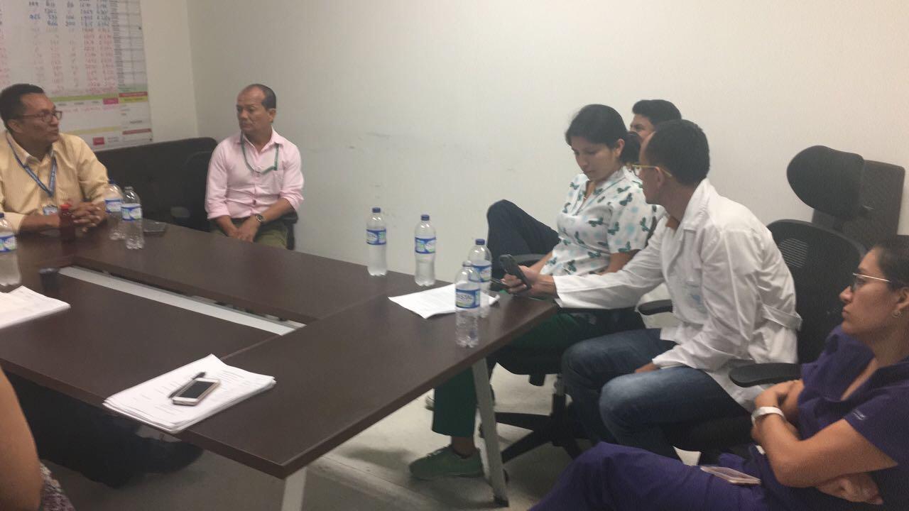 #EnAudio Gerente del hospital de Yopal responde a los médicos