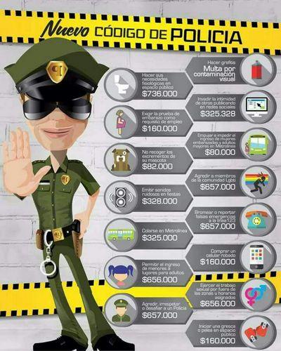 Hoy entra en vigencia el Código Nacional de Policía y Convivencia, y también se regulan las actividades económicas