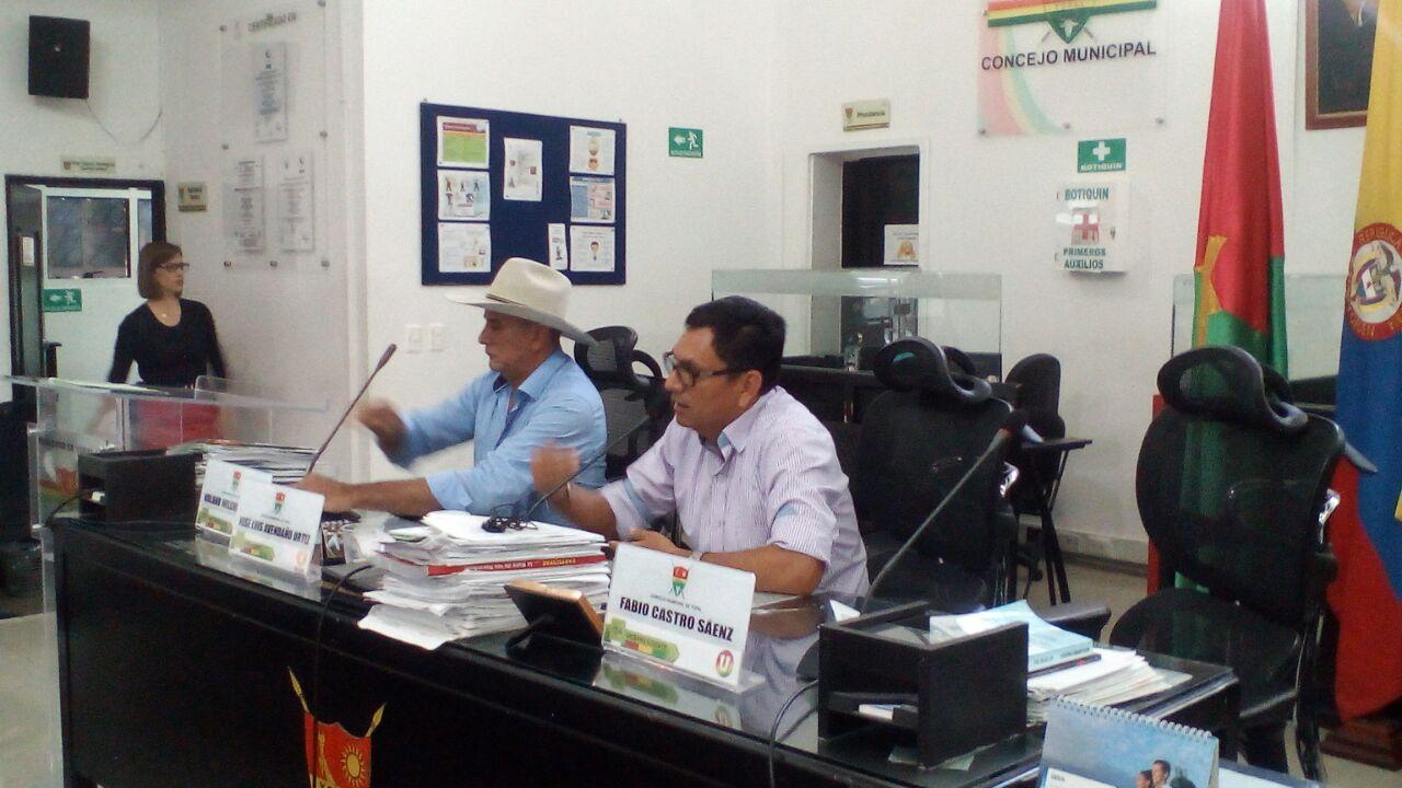 #EnAudio Concejo pide a Alcaldía estudio técnico para autorizar vigencias futuras.