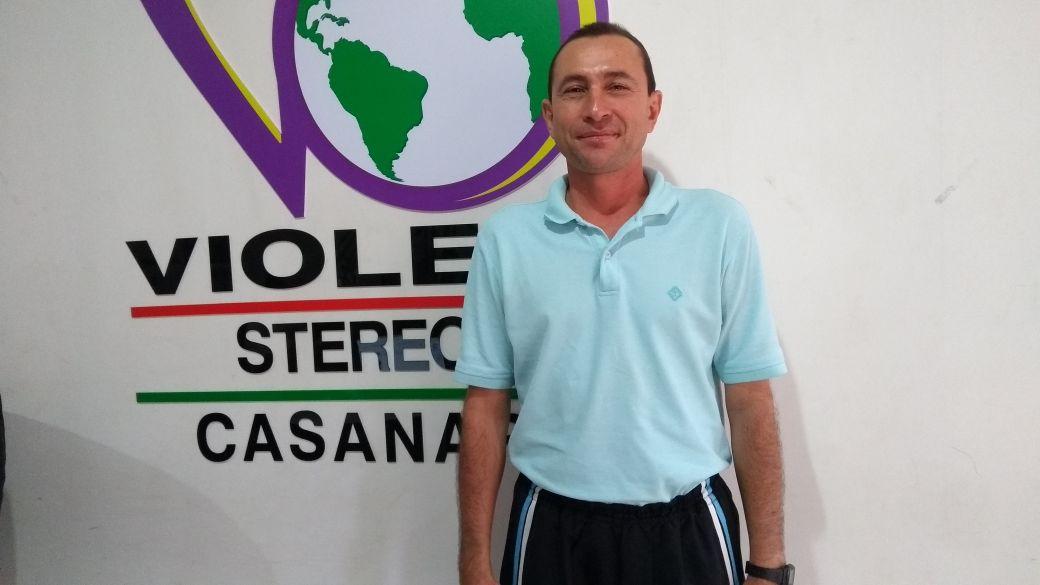 #EnAudio Eliecer Guzmán, entrenador de la Liga de Baloncesto de Casanare.