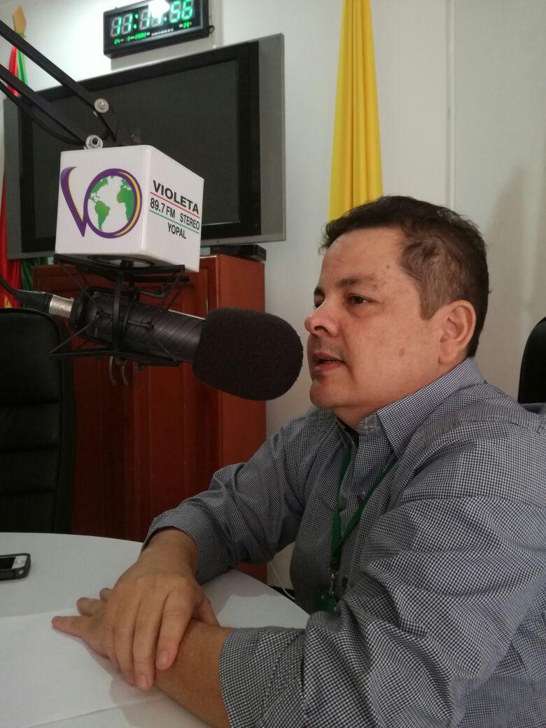 #EnAudio Lic. Fredy Martínez, habla sobre la organización de los Juegos ASCUN en Yopal.
