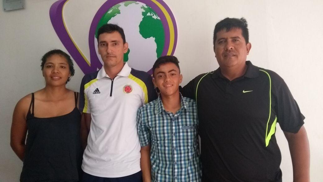 #EnAudio Invitados especiales de Barcelonitas de Aguazul, equipo que participa en la Torneo Nacional Sub 15 de Fútbol