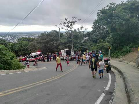 Tres heridos deja accidente de cuatrimoto en la vía a la Virgen en Yopal