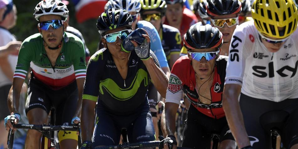 Y a Nairo se le puso el Tour de Francia cuesta arriba