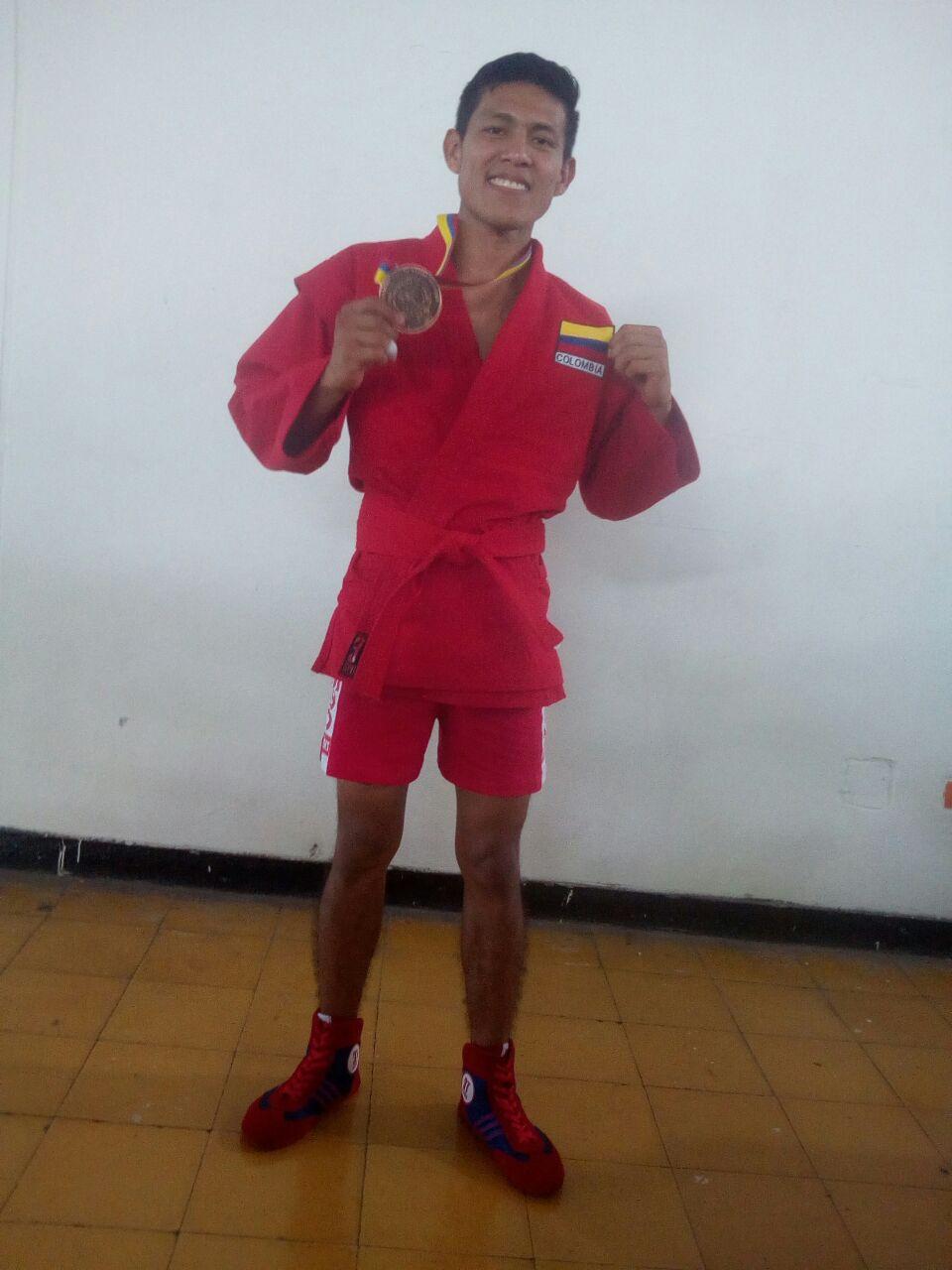 #EnAudio Peleador Casanareño de Sambo Combat se iría para el Meta por falta de apoyo