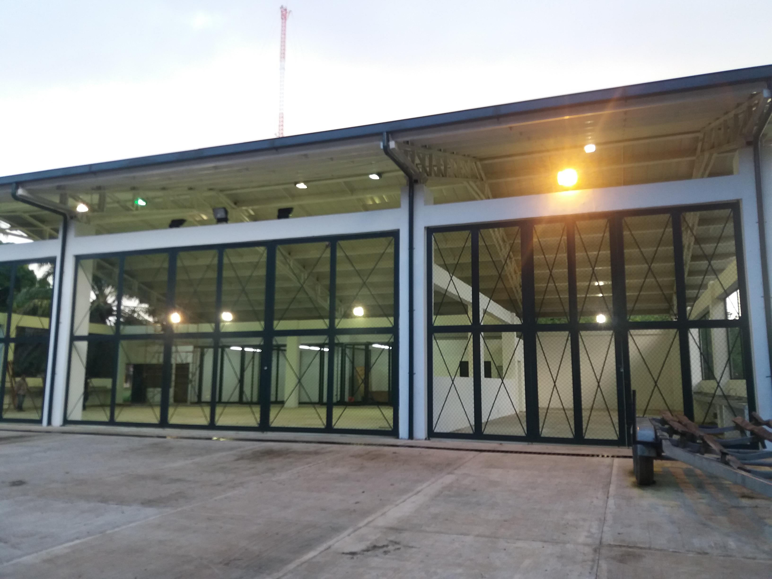 Listo el hangar para el mantenimiento de unidades fluviales de la Armada Nacional en Orocué