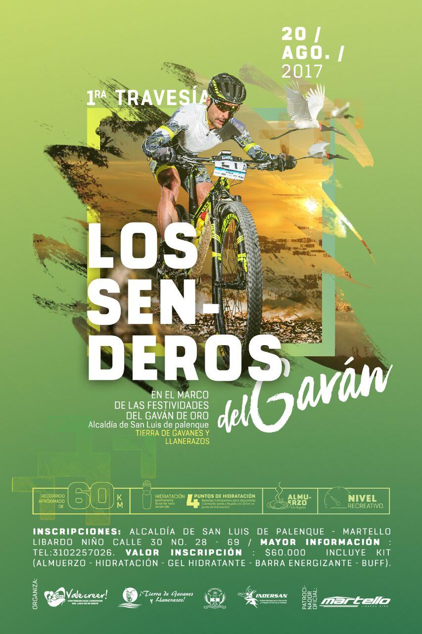 """#EnAudio Alexis Duarte con los detalles de la 1° Travesía """"Los Senderos del Gaván"""" en San Luis de Palenque."""
