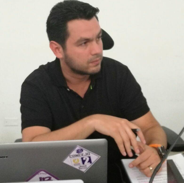 #EnAudio Concejal José Barrios explica en que van sesiones extraordinarias de concejo y solicitud de vigencias futuras.