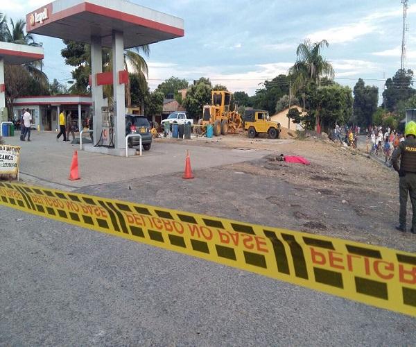 Explosión en estación de servicio de Terpel en Pore deja dos personas muertas y un herido.