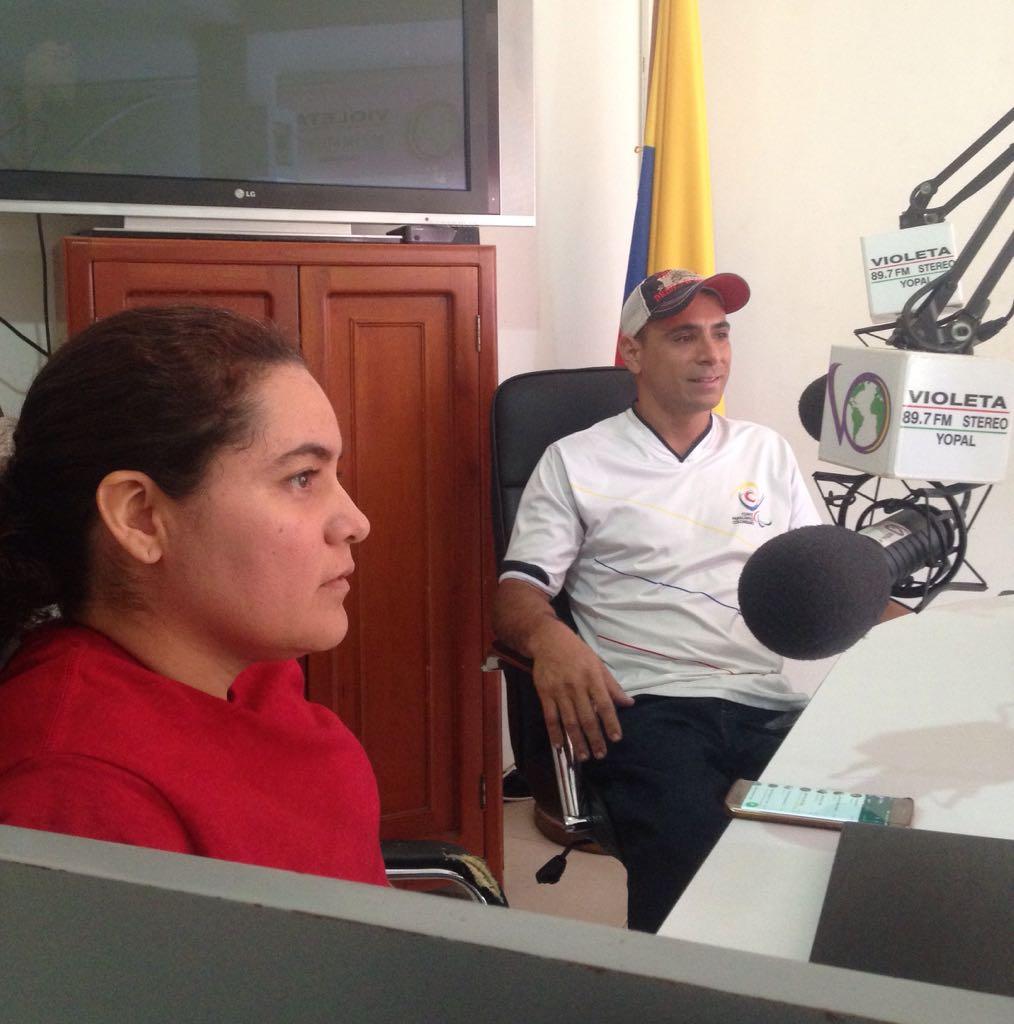 #EnAudio Johanna Clavijo, convocada a la selección Colombia de Baloncesto en Silla de Ruedas.