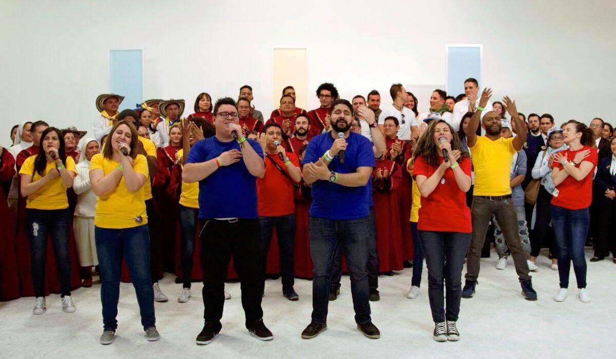 """#EnAudio Mauricio García, nos habla de MCU interpretes de """"Demos el primer paso"""" que será el Himno oficial de la visita Papal."""
