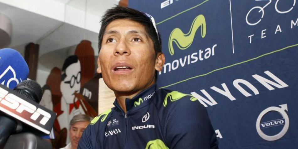 Nairo Quintana podría salir del equipo Movistar