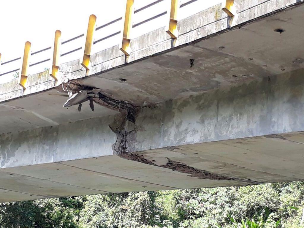 Los puentes del río Charte y La Orquidea están incluidos dentro de los 16 con más estado crítico del país: Invías.