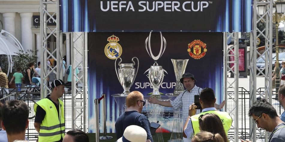 Gran duelo por la Supercopa Europea: Real Madrid vs. Manchester United