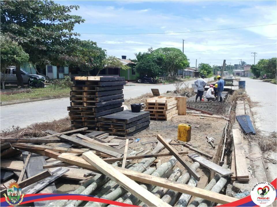 Después de tres años se reinician obras de construcción de la planta de Tratamiento de agua Potable en Trinidad