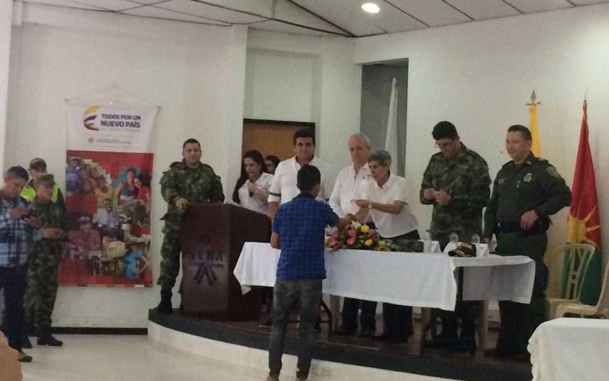 En Yopal, 200 víctimas de desplazamiento forzado recibirán su libreta militar