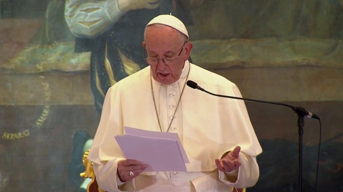 """""""Las 10 frases para recordar"""" del discurso del Papa Francisco"""