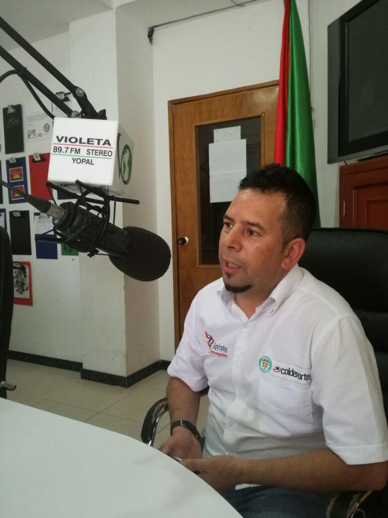 #EnAudio Alexander Aguirre, coordinador Atletismo, Regional Llanos, Juegos Supérate Intercolegiados