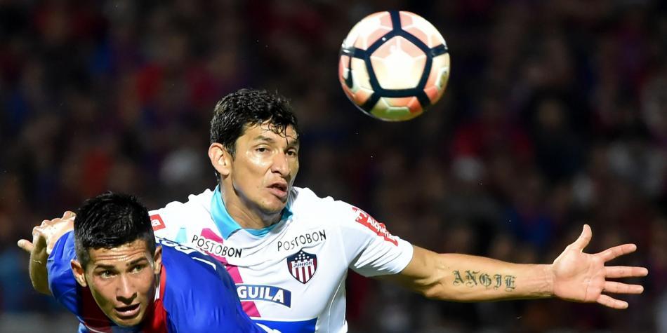 Junior sacó un empate a Cerro Porteño en la Copa Suramericana