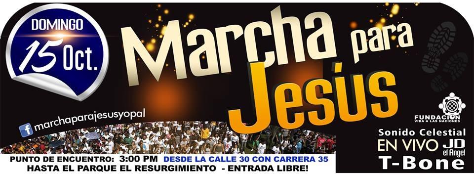 #EnAudio La marcha para jesus, en Octubre.