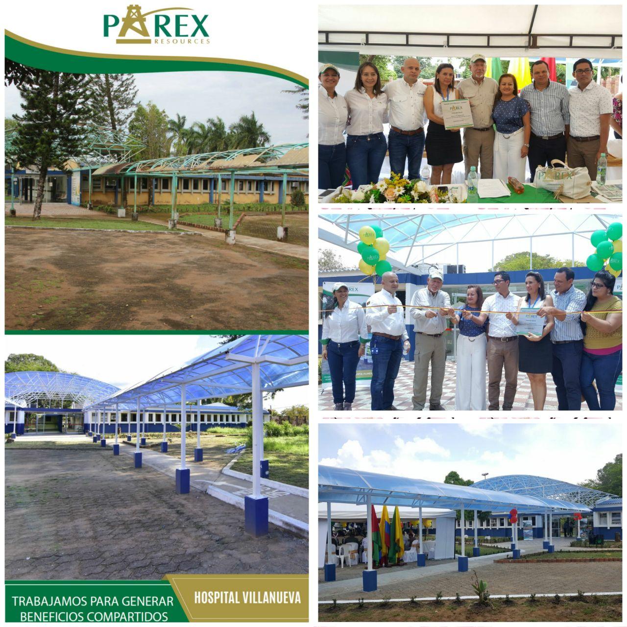 """#EnAudio """"Parex Resources aportó $120 millones para la realización de obras  y dotación el Hospital de Villanueva"""" Gerente Responsabilidad Social."""