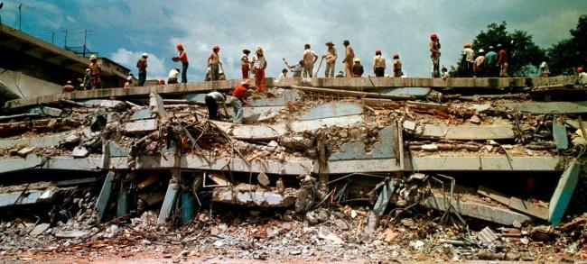 La trágica coincidencia de terremotos en México en 1985 y 2017