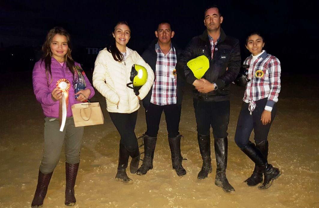 Grupo Guías de Casanare, triunfó en pruebas enduro de equitación en Cundinamarca