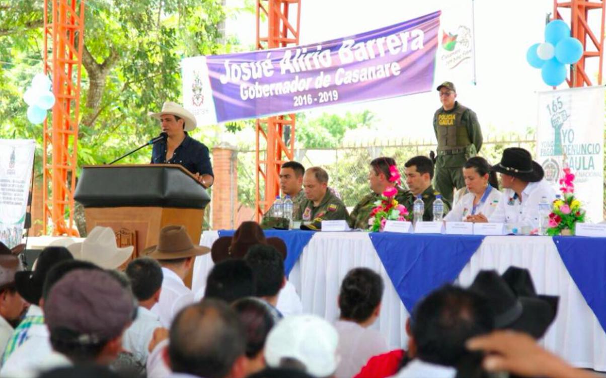 En Orocué se ha invertido $53 mil millones: Gobernador Alirio Barrera