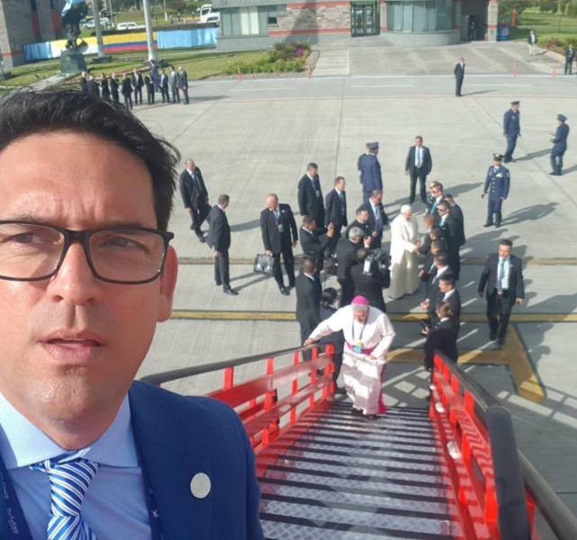 Un llanero llega al Ministerio de Agricultura