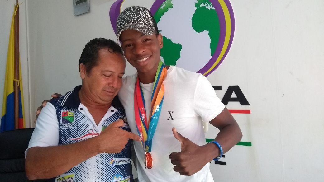 #EnAudio Giancarlos Mosquera, medallista en los Juegos Suramericanos de la Juventud